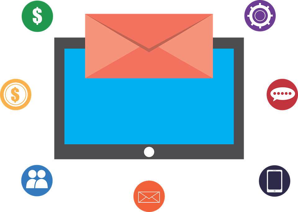 Image of Computer E-mail Aspects